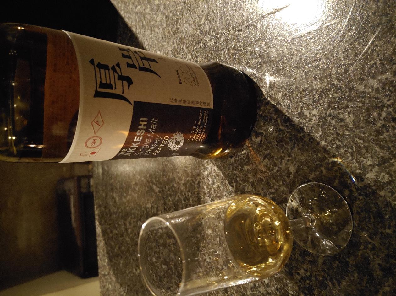 モルト ウイスキー シングル 寒露 厚岸
